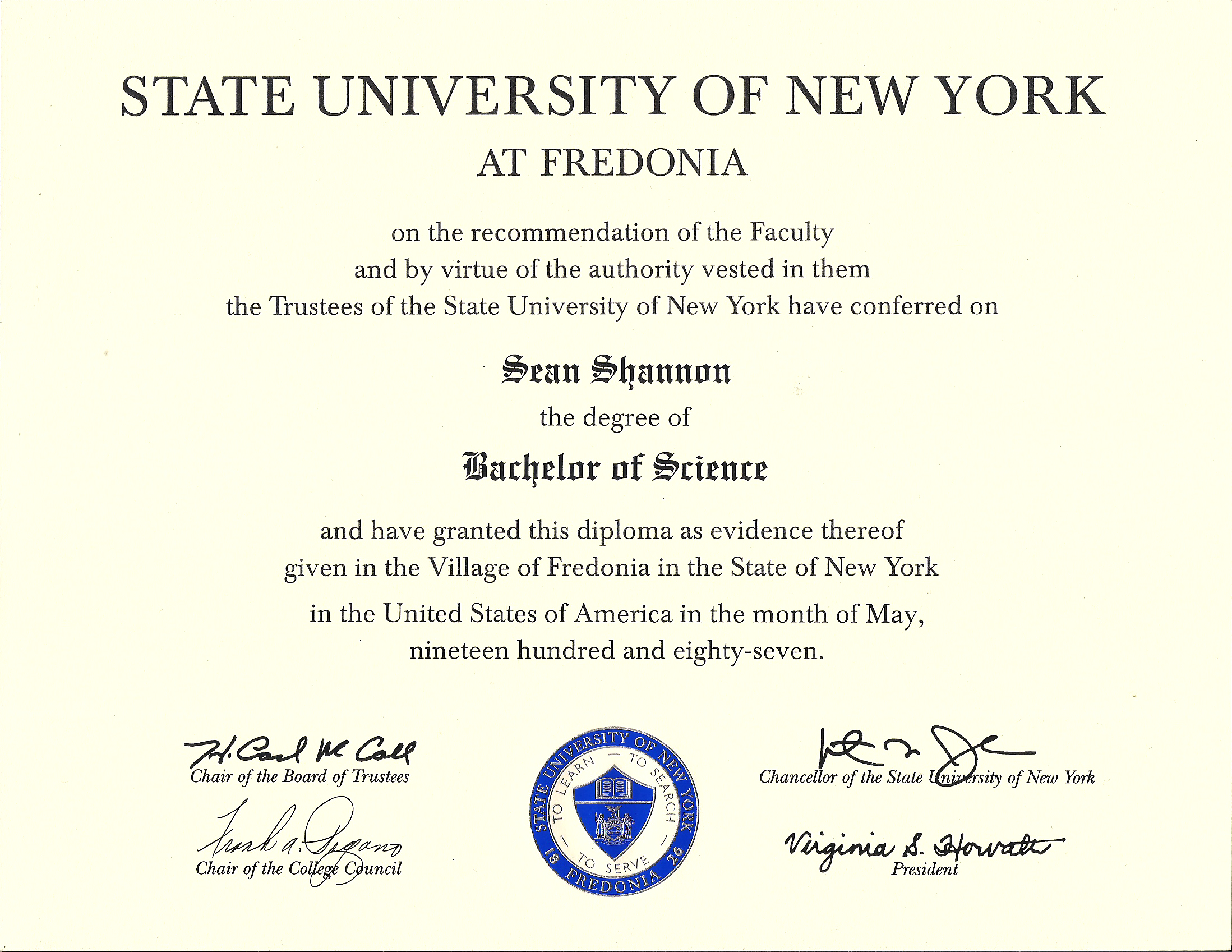 Bachelor Of Science